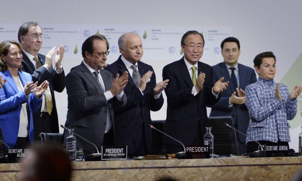 Delegates at COP21 Climate Conference December 2015