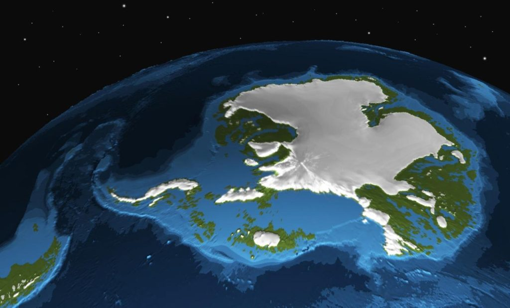 What the Antarctic Ice Sheet may have looked like during the Miocene